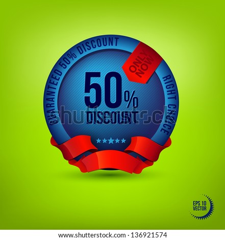 Vector label. Discounts. Best Choice - stock vector