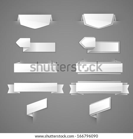 Vector labels set  - stock vector