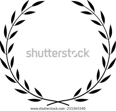 Vector Laurel Wreath   - stock vector