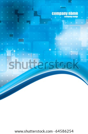 Vector layout - stock vector