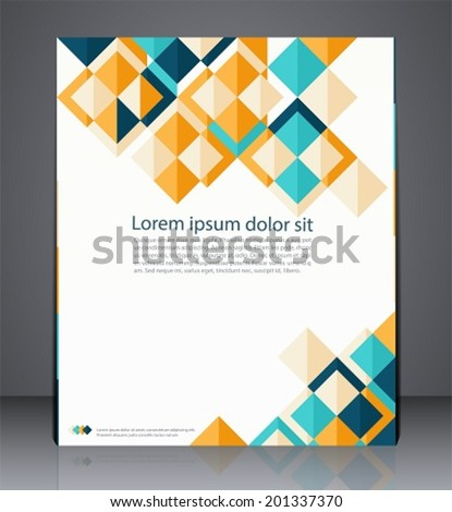 Vector Layout Business Flyer Magazine Cover Stock Vector 201337370 ...
