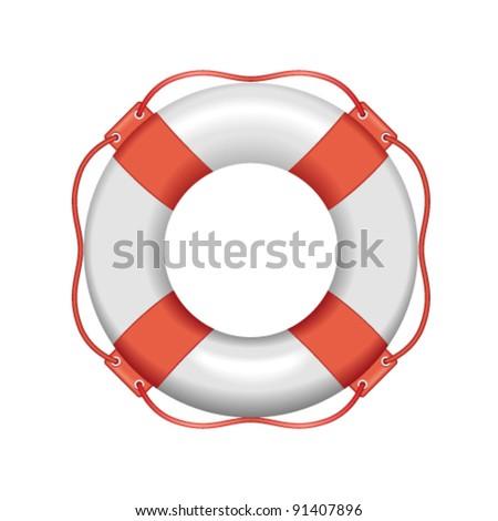 Vector Lifebuoy - stock vector