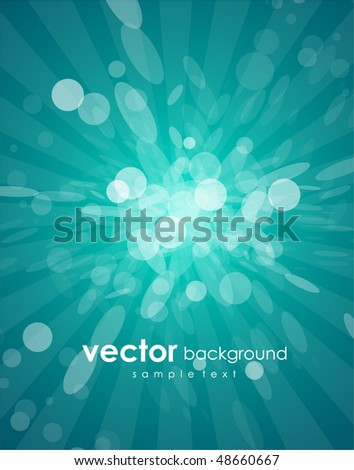 Vector light background - stock vector