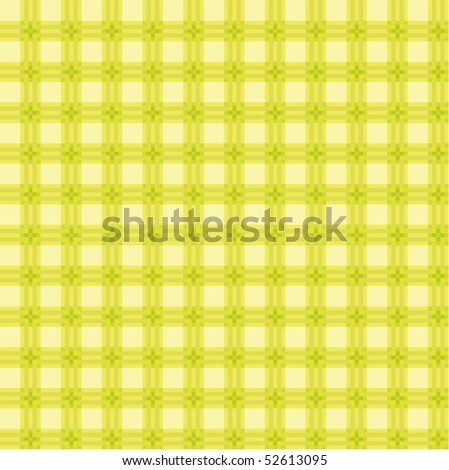 vector light green picnic cloth - stock vector