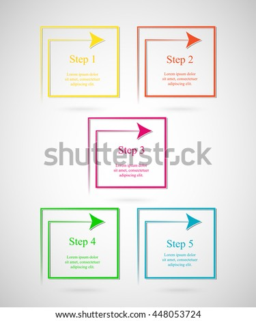 Collage Photo Frame Album Template Kids Stock Vector 429280105 ...