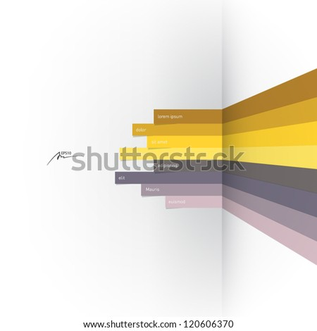 vector lines design element - stock vector