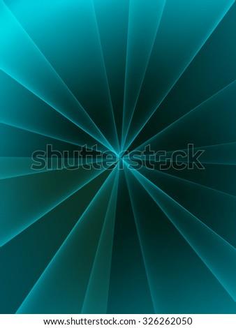 vector lines of light - stock vector