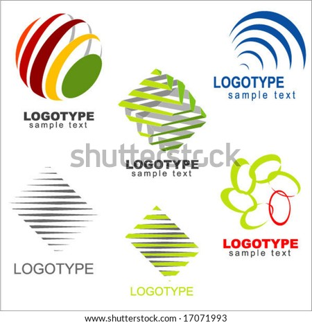 vector logo & design elements - stock vector