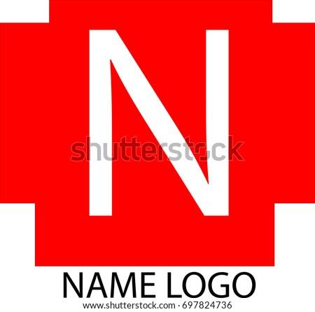 Red Logo That Starts With K   Logo Wallpaper  Red N Logo Name