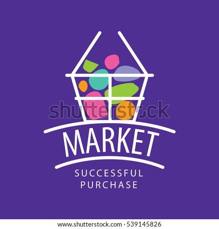 vector logo market stock vector 539145826 shutterstock