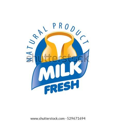 milk logo stock images royaltyfree images amp vectors