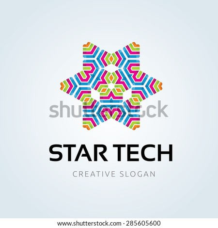 Vector Logo Template - stock vector