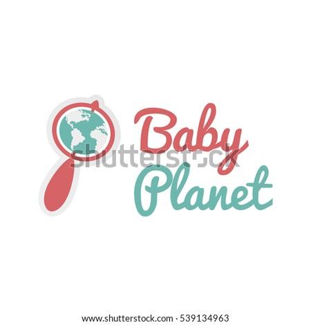 vector logo template childrens center on stock vector 539134963