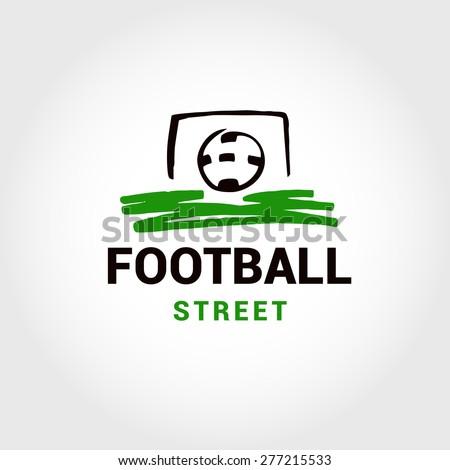 Vector Logo Template Street Football Soccer Stock Vector 277215533 ...