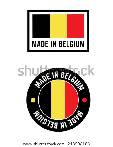 Vector Made In Germany Icon and Logo Set