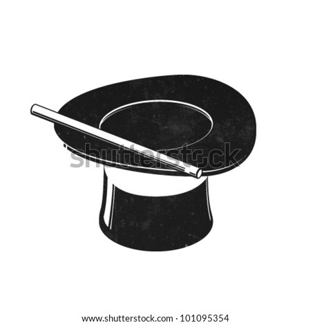 Vector Magic Hat Icon - stock vector