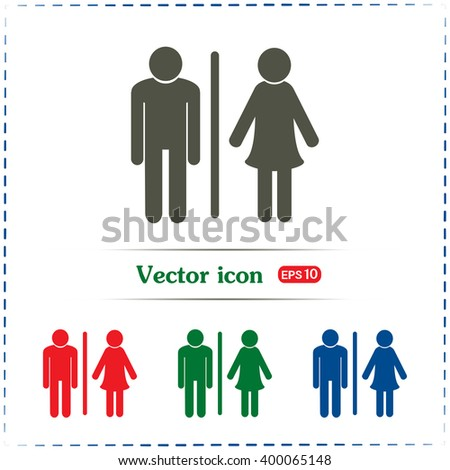 vector male and female sign