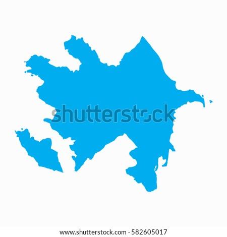 Azerbaijan Map Stock Images RoyaltyFree Images Vectors - Azerbaijan maps with countries