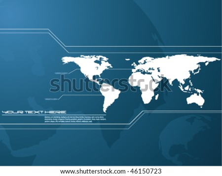 vector map background