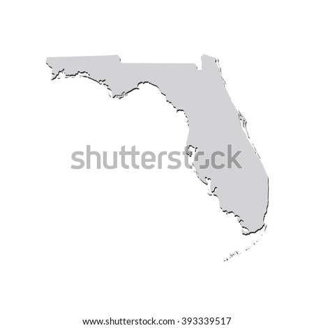 Florida Map Stock Images RoyaltyFree Images Vectors Shutterstock - Map to florida