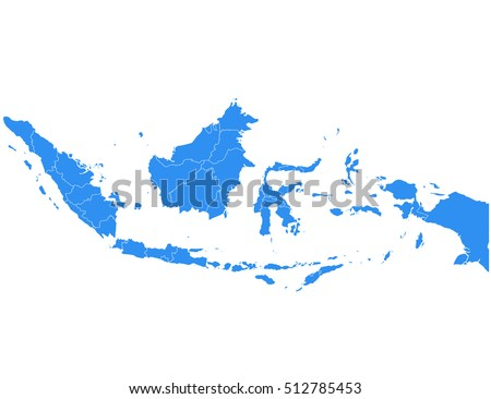 Indonesia Map Vector Stock Images RoyaltyFree Images Vectors