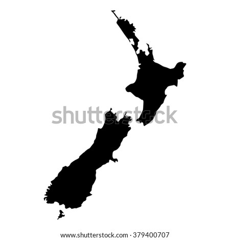 Vector map Netherlands. Isolated vector Illustration. Black on White background. EPS Illustration.