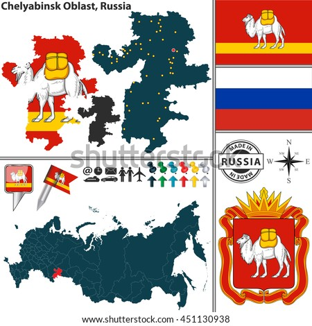 Map Russian Coat Of 110