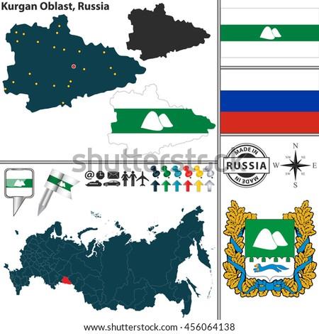 Map Russian Coat Of 88