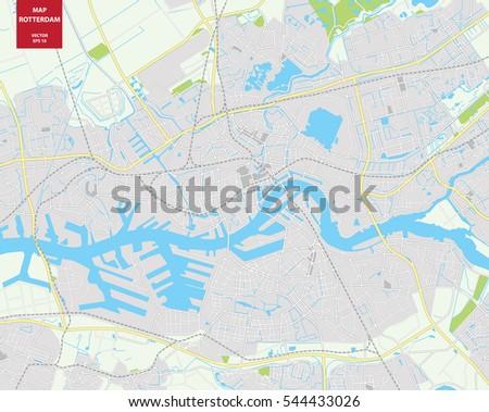 Vector map rotterdam netherlands city plan stock vector 544433026 vector map of rotterdam netherlands city plan rotterdamctor illustration gumiabroncs Gallery