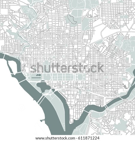 Washington Dc Map Stock Images RoyaltyFree Images Vectors - Washington dc map usa