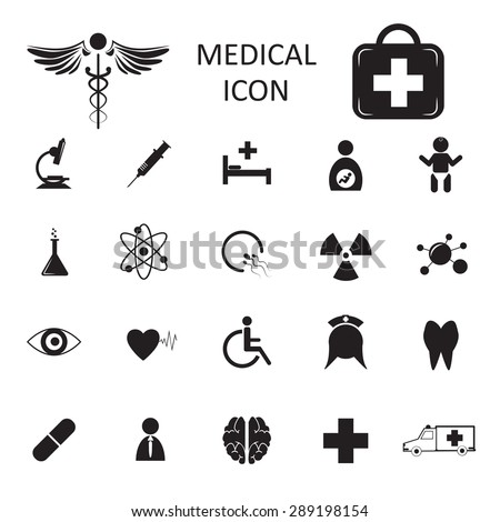 vector medical icon isolated