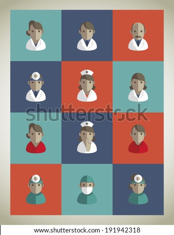 Vector - Medical icons - stock vector