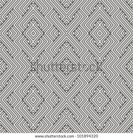 Vector Metal Seamless Pattern - stock vector
