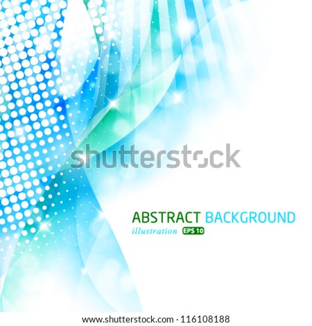 Vector modern abstract background.