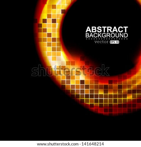 Vector modern abstract background illustration.