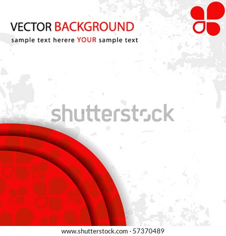 Vector modern abstract business background