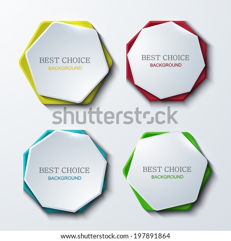 Vector modern banners set. Eps10 - stock vector