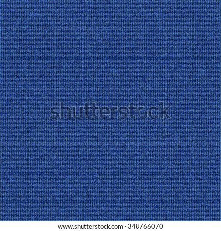 Vector modern blue jeans texture background illustration - stock vector