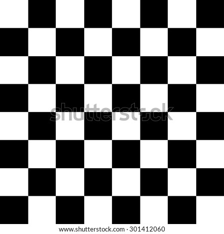 Vector modern chess board background design. Eps10 - stock vector