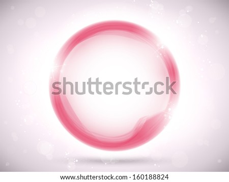 Vector - Modern Pink Circle Glowing Effects - stock vector