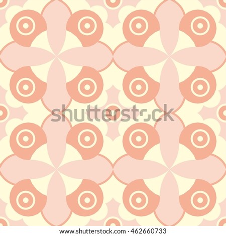 Vector modern seamless colorful geometry pattern, colorul boho abstract background