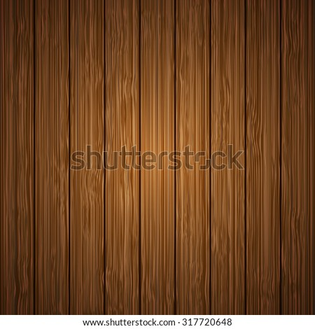 Vector modern wooden texture background. Wood pattern design - stock vector