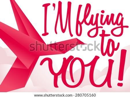 vector multicolor origami bird design - stock vector