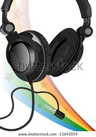 vector music - stock vector