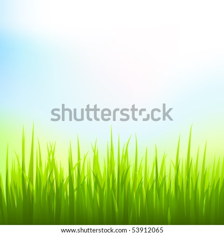 vector nature background. eps 10 - stock vector