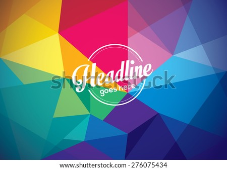 Vector of abstract background - stock vector