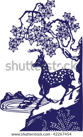 Vector of Ancient Traditional Chinese Pattern - stock vector