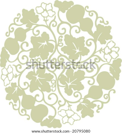 Vector of Classical Traditional Chinese Pattern