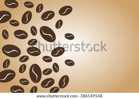 Vector of coffee symbol or icon - stock vector