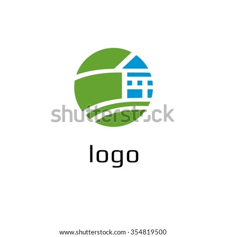 Vector of house icon. Business team for construction icon. Business icon for the company. Abstract symbol of house village cottage. Design element. Vector illustration.